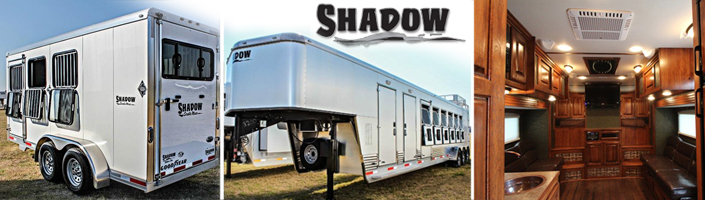 Shadow Horse Trailer - Living Quarter Horse Trailers