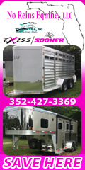 No Reins Equine - Shadow of Mid Florida Horse Trailers