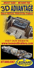 Leonard Truck and Trailers - Horse Trailers for Sale