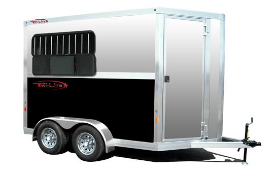 Twi Lite Aluminum Bumper Pull Horse Trailers Ohio Horse Trailers